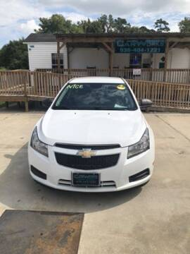 2014 Chevrolet Cruze for sale at CarWorks in Orange TX