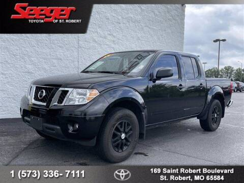 2019 Nissan Frontier for sale at SEEGER TOYOTA OF ST ROBERT in St Robert MO