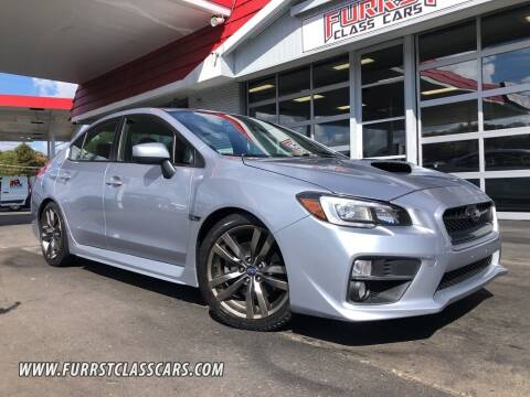 2016 Subaru WRX for sale at Furrst Class Cars LLC  - Independence Blvd. in Charlotte NC