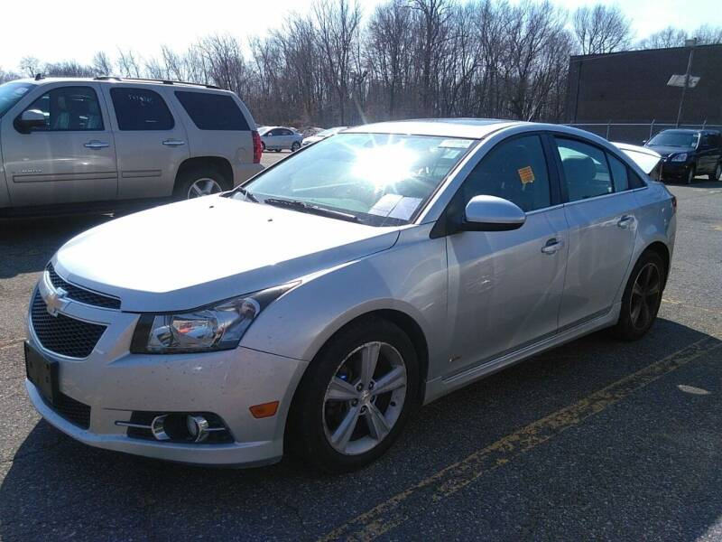 2014 Chevrolet Cruze for sale at BUY RITE AUTO MALL LLC in Garfield NJ