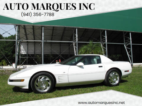 1993 Chevrolet Corvette for sale at Auto Marques Inc in Sarasota FL