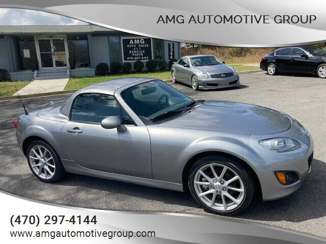 2012 Mazda MX-5 Miata for sale at AMG Automotive Group in Cumming GA
