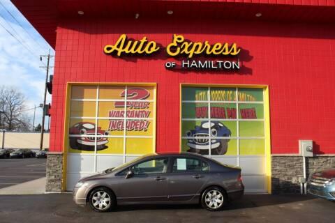 2009 Honda Civic for sale at AUTO EXPRESS OF HAMILTON LLC in Hamilton OH
