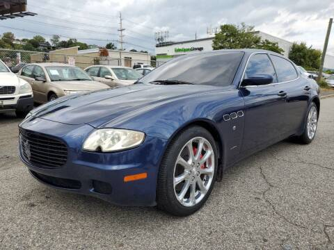 2005 Maserati Quattroporte for sale at MENNE AUTO SALES in Hasbrouck Heights NJ