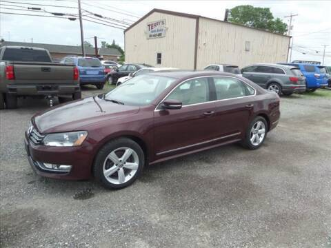 2014 Volkswagen Passat for sale at Terrys Auto Sales in Somerset PA