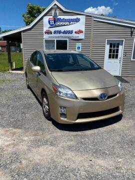 2011 Toyota Prius for sale at ROUTE 11 MOTOR SPORTS in Central Square NY