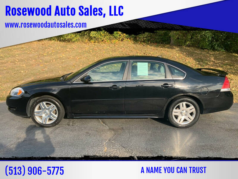 2012 Chevrolet Impala for sale at Rosewood Auto Sales, LLC in Hamilton OH