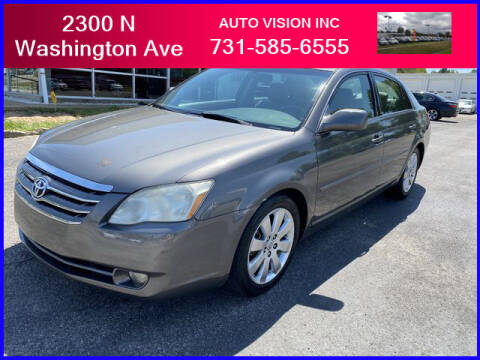 2007 Toyota Avalon for sale at Auto Vision Inc. in Brownsville TN