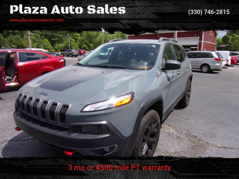 2015 Jeep Cherokee for sale at Plaza Auto Sales in Poland OH