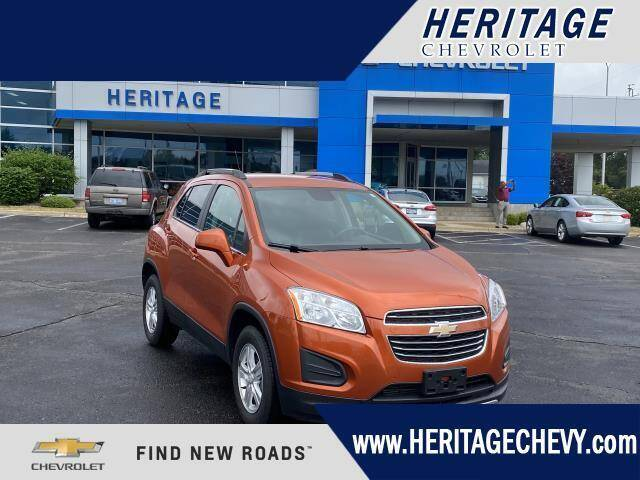 2016 Chevrolet Trax for sale at HERITAGE CHEVROLET INC in Creek MI
