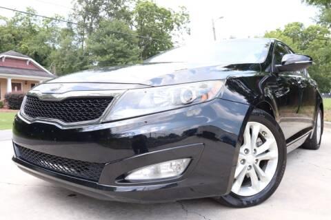 2013 Kia Optima for sale at Cobb Luxury Cars in Marietta GA