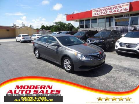 2014 Hyundai Sonata for sale at Modern Auto Sales in Hollywood FL