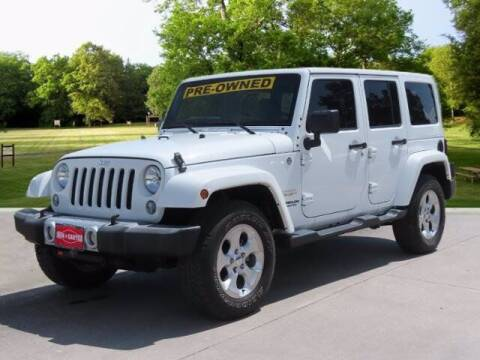 2015 Jeep Wrangler Unlimited for sale at BIG STAR HYUNDAI in Houston TX