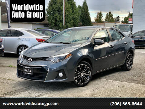 2016 Toyota Corolla for sale at Worldwide Auto Group in Auburn WA