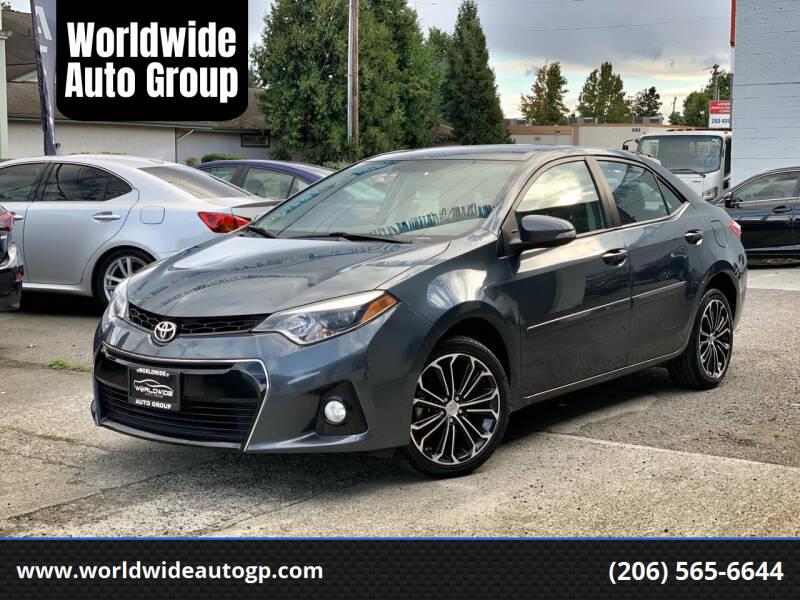 2016 Toyota Corolla for sale at Worldwide Auto Group in Auburn WA