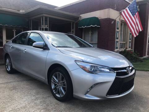 2016 Toyota Camry for sale at Firestation Auto Center in Tyler TX