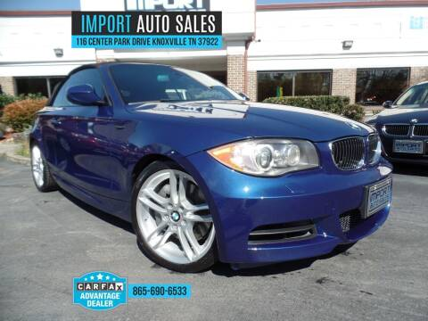2011 BMW 1 Series for sale at IMPORT AUTO SALES in Knoxville TN