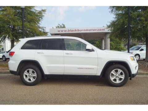 2016 Jeep Grand Cherokee for sale at BLACKBURN MOTOR CO in Vicksburg MS