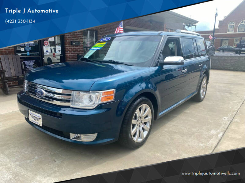 2011 Ford Flex for sale at Triple J Automotive in Erwin TN