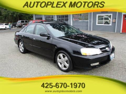 2002 Acura TL for sale at Autoplex Motors in Lynnwood WA