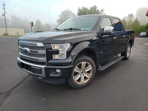 2015 Ford F-150 for sale at Cruisin' Auto Sales in Madison IN