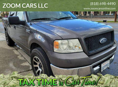 2006 Ford F-150 for sale at ZOOM CARS LLC in Sylmar CA