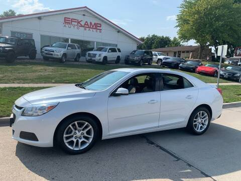 2016 Chevrolet Malibu Limited for sale at Efkamp Auto Sales LLC in Des Moines IA
