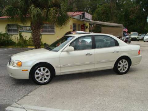 2004 Kia Optima for sale at VANS CARS AND TRUCKS in Brooksville FL