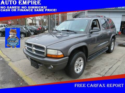2003 Dodge Durango for sale at Auto Empire in Brooklyn NY