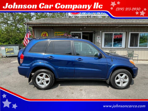 2002 Toyota RAV4 for sale at Johnson Car Company llc in Crown Point IN