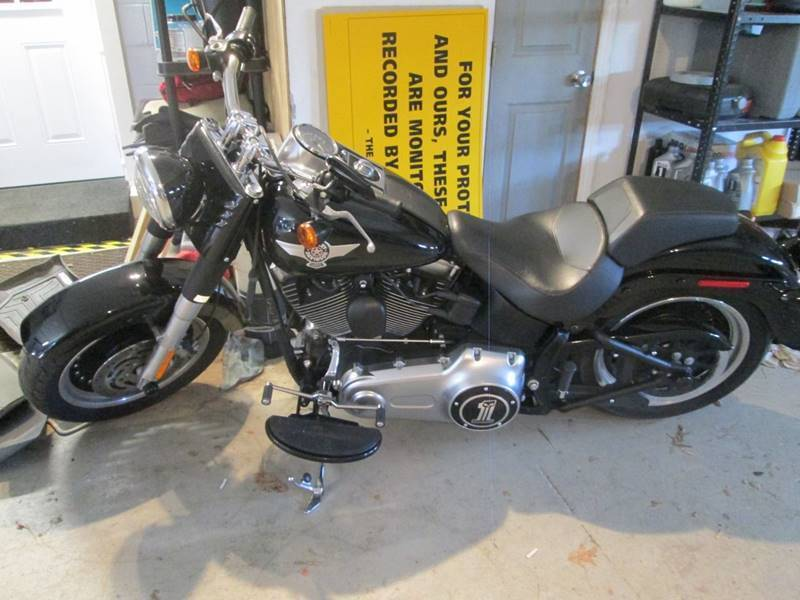 2011 Harley-Davidson FLSTFB FAT BOY for sale at BEST AUTO BARGAIN inc. in Lowell MA