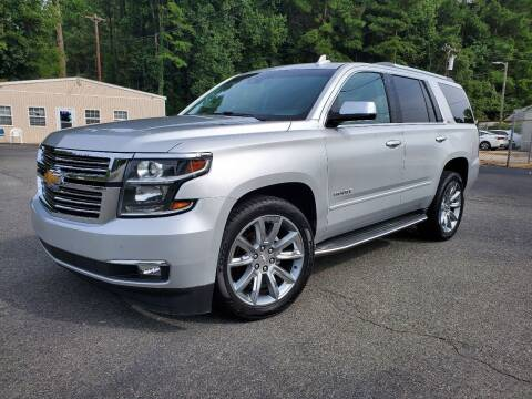 2015 Chevrolet Tahoe for sale at Brown's Used Auto in Belmont NC