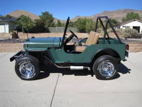1963 Willys Jeep for sale at Classic Car Deals in Cadillac MI