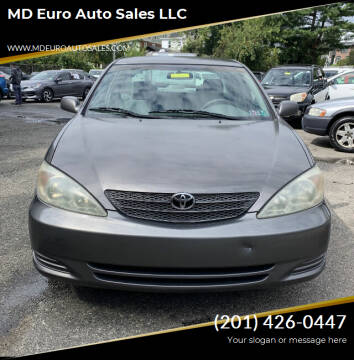 2003 Toyota Camry for sale at MD Euro Auto Sales LLC in Hasbrouck Heights NJ