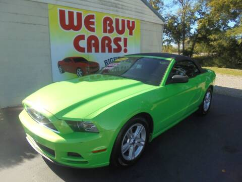2014 Ford Mustang for sale at Right Price Auto Sales in Murfreesboro TN