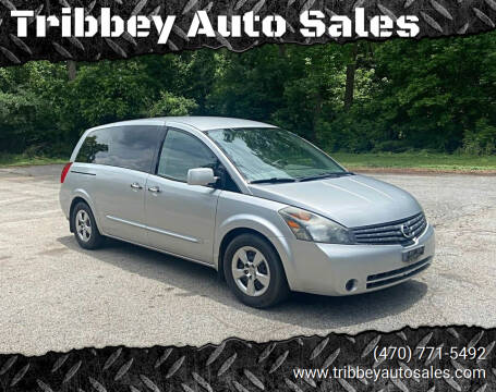 2009 Nissan Quest for sale at Tribbey Auto Sales in Stockbridge GA