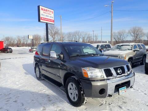 2005 Nissan Armada for sale at Marty's Auto Sales in Savage MN