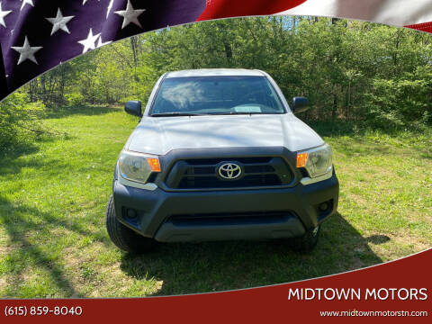 2015 Toyota Tacoma for sale at Midtown Motors in Greenbrier TN