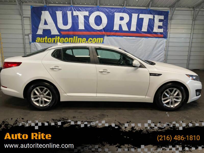 2013 Kia Optima for sale at Auto Rite in Cleveland OH