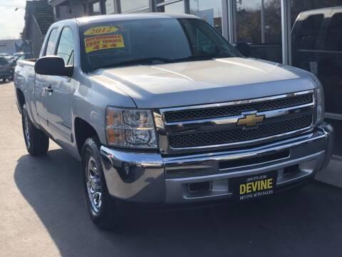 2012 Chevrolet Silverado 1500 for sale at Devine Auto Sales in Modesto CA