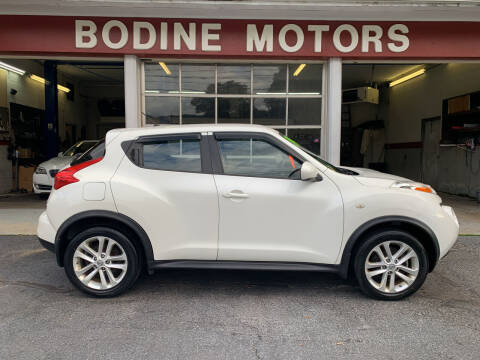 2014 Nissan JUKE for sale at BODINE MOTORS in Waverly NY