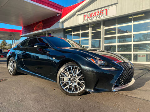 2015 Lexus RC 350 for sale at Furrst Class Cars LLC  - Independence Blvd. in Charlotte NC