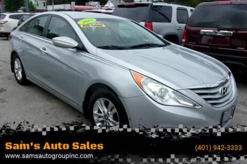 2013 Hyundai Sonata for sale at Sam's Auto Sales in Cranston RI