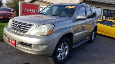 2004 Lexus GX 470 for sale at PLANET AUTO SALES in Lindon UT