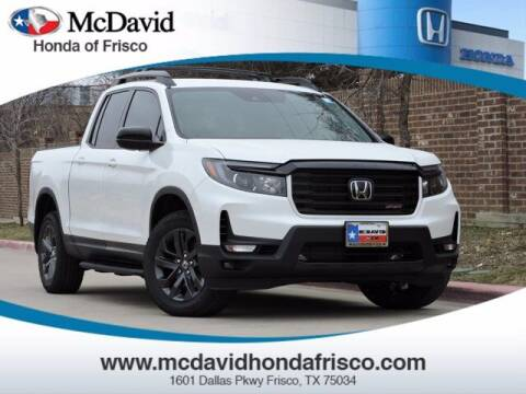 2021 Honda Ridgeline for sale at DAVID McDAVID HONDA OF IRVING in Irving TX