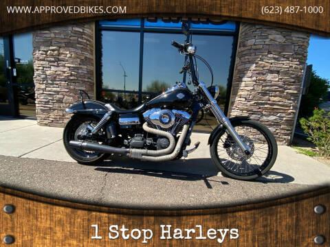 2012 Harley-Davidson Dyna Wide Glide  for sale at 1 Stop Harleys in Peoria AZ