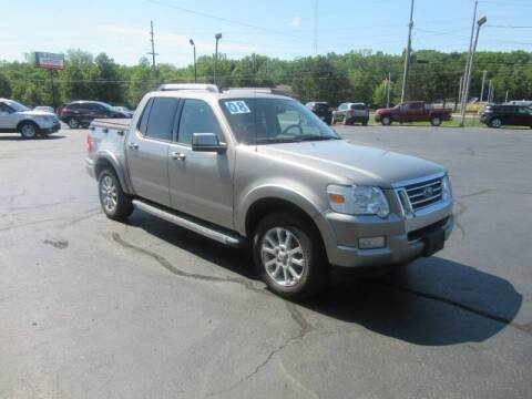 2008 Ford Explorer Sport Trac for sale at Burgess Motors Inc in Michigan City IN