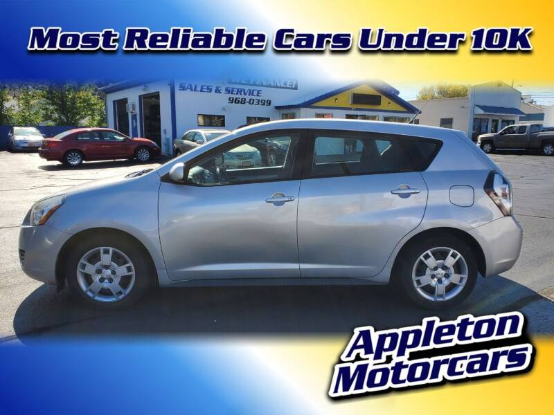 2009 Pontiac Vibe for sale at Appleton Motorcars Sales & Service in Appleton WI