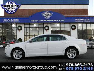 2009 Chevrolet Malibu for sale at Highline Group Motorsports in Lowell MA