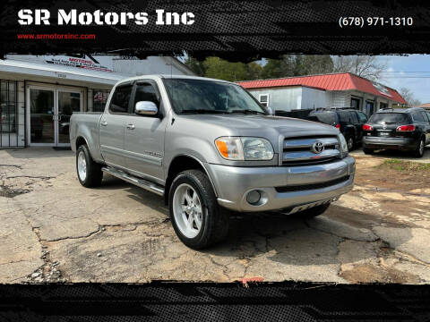 2006 Toyota Tundra for sale at SR Motors Inc in Gainesville GA